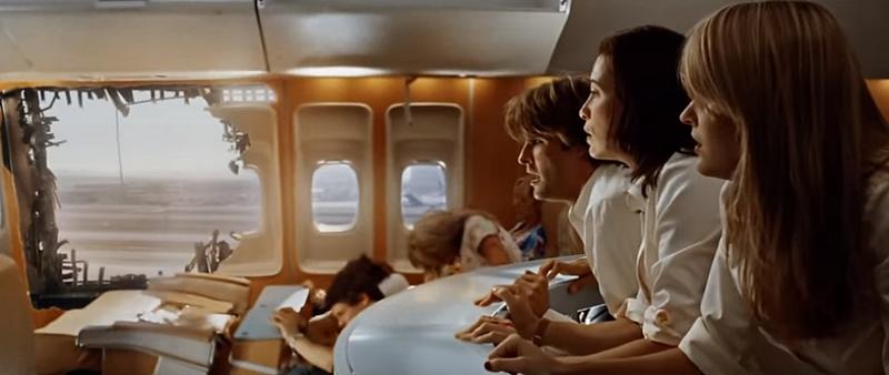 Des serpents dansl'avion